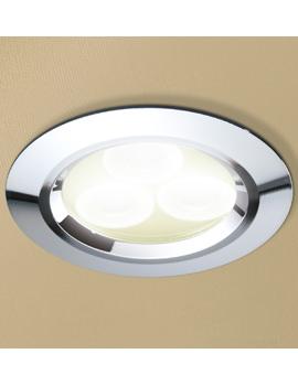 HIB Warm White LED Chrome Showerlight