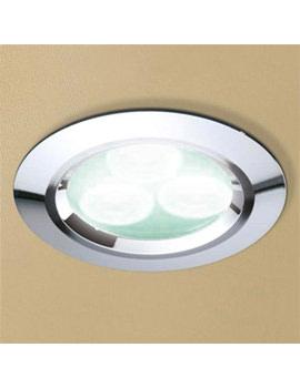 HIB Cool White LED Chrome Showerlight