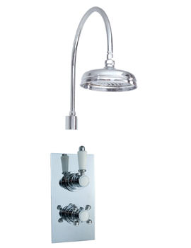 Phoenix HF Series Twin Thermostatic Valve With Fixed Head And Shower Arm