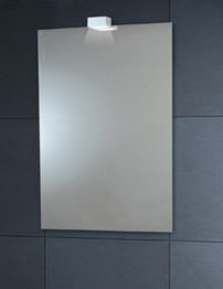 Phoenix Venus Down Lighter Mirror With Demister Pad 600 x 900mm