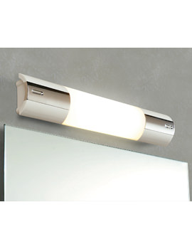 Hib bathroom lights ceiling lights and shower lights hib shavolite mirror light with shaver socket mozeypictures Gallery