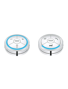 Grohe Spa Veris F Chrome Digital Controller And Digital Diverter For Bath