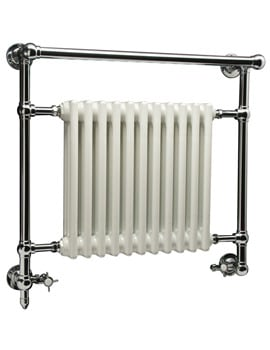 DQ Heating Ixworth 846 x 798mm Wall Mounted Towel Rail