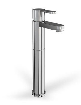 Cleargreen Crystal Tall Basin Mixer Tap Without Pop Up Waste