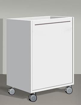 Duravit X-Large White Matt 400mm Mobile Storage Unit
