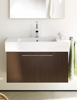 Duravit X-Large 1000 x 468mm Vanity Unit With 1050mm Basin