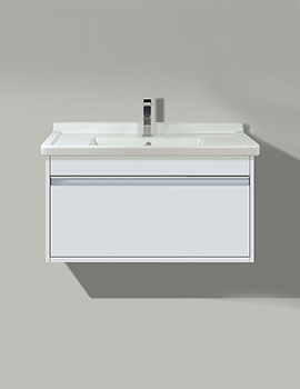Duravit X-Large White 800 x 468mm Vanity Unit With Starck 3 850mm Basin