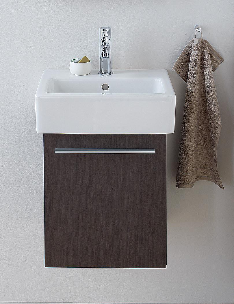 Badezimmer waschtischunterschrank: art bad unterschrank aus teak ...