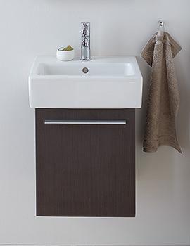 Duravit X-Large Chestnut Dark 400mm Vanity Unit With 500mm Basin