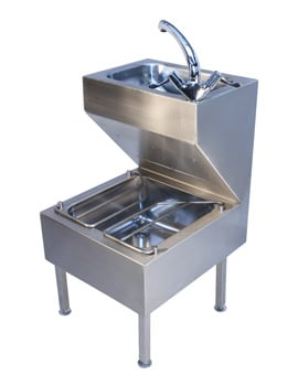 Twyford Stainless Steel Janitorial Unit 500 x 500 x 880mm