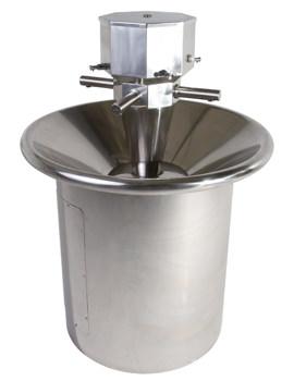 Twyford SS Floor Mounted Circular Washstation 911mm Diameter