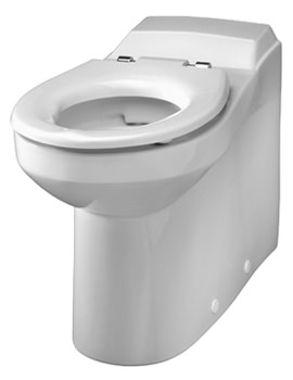 Twyford Avalon Rimless Back-To-Wall WC Pan 700mm