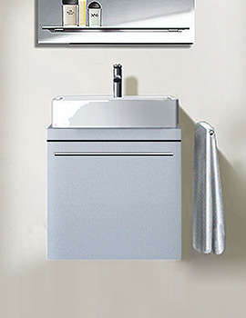 Duravit X-Large White Matt 800mm Vanity Unit