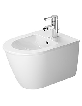 Duravit Darling New 360 x 485mm Wall Mounted Compact Bidet