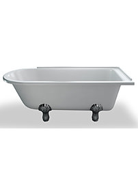 Clearwater 1690 x 750mm Kensington Traditional Bath With Feet - RH