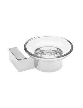 Tre Mercati Edge Wall Mounted Soap Dish Chrome