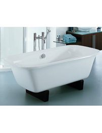 Adamsez Essence Pure 1750 x 800mm Double Ended Freestanding Bath