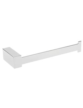Tre Mercati Edge Toilet Roll Holder Chrome