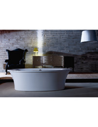 Adamsez Elipta Advance 1900 x 900mm Double Ended Freestanding Bath