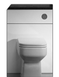 Roper Rhodes Vetro 500mm Standard Depth WC Unit White