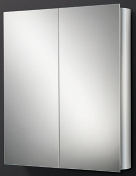 HIB Quantum Double Door Aluminium Cabinet 600 x 700mm