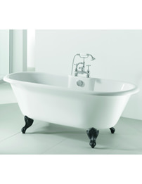 Adamsez Portobello Pure 1765 x 780mm Freestanding Bath With Feet