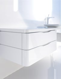 Duravit PuraVida 800mm Floor Cabinet For Console