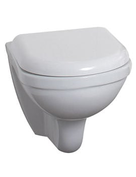 Phoenix Emma Wall Hung WC Pan 380mm With Soft Close Seat Cover