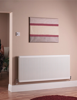 Quinn Compact Double Panel Single Convector Radiator 1000 x 600mm