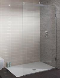 Simpsons Ten Single Fixed Walk In Shower Panel 400 x 2000mm