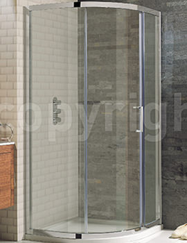 Simpsons Elite Offset Quadrant Single Door 1200 x 900mm