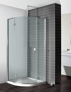Simpsons Design 900mm Single Hinged Door Quadrant Enclosure