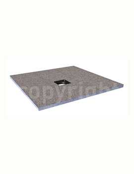 Simpsons Wetroom Level Access 1600 x 900mm Shower Tray With Centre Drain