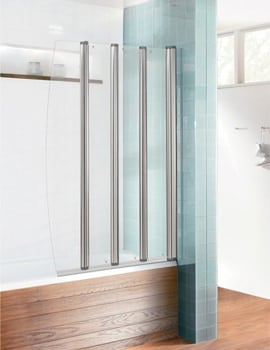 Simpsons Edge Foldaway Bath Screen 830mm