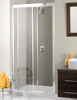 Simpsons Supreme 1100mm Single Slider Framed Shower Door