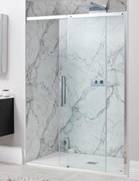 Simpsons Ten Frameless 1700mm Single Slider Shower Door