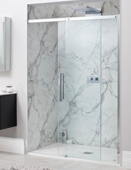 Simpsons Ten Frameless 1400mm Single Slider Shower Door
