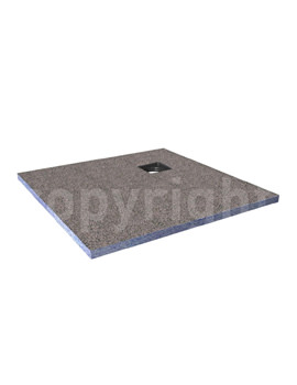 Simpsons Wetroom Level Access 1200 x 900mm Shower Tray With Corner Drain