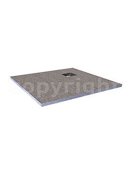 Simpsons Rectangular Wetroom Tray With Centre End Waste 1600 x 900mm