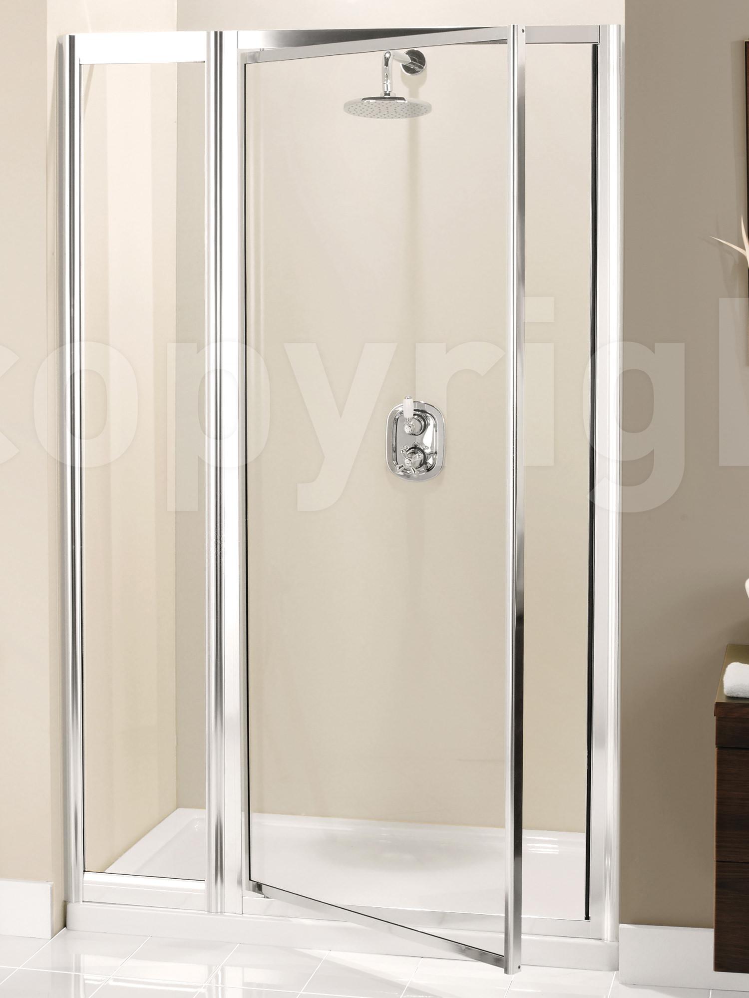 Entry Doors Product : Simpsons supreme mm pivot shower door with inline panel
