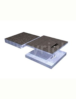 Simpsons Wetroom 750 x 1850 x 155mm Step Up Shower Tray