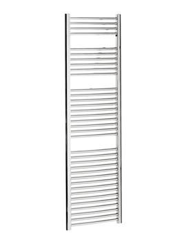Bauhaus Stream 500 x 1700mm Curved Panel Towel Rail