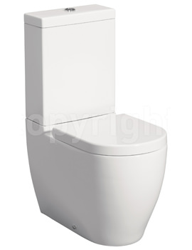 Bauhaus Stream II 630mm Close Coupled WC Complete Set