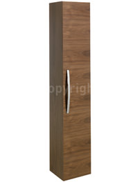 Bauhaus Stream 300 x 1600mm American Walnut Tower Storage Unit
