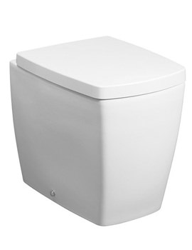 Bauhaus Touch Back To Wall WC Pan With Wrap Over Soft Close Seat