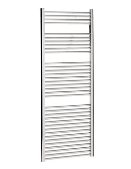 Bauhaus Design 500 x 1700mm Flat Panel Chrome Towel Rail