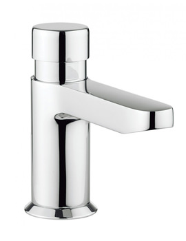 Crosswater Central Monobloc Non-Concussive Basin Mixer Tap Without Pop-Up Waste