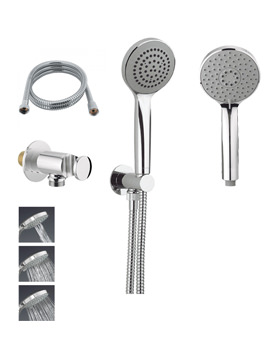 Crosswater Wisp Low Pressure Shower Kit Package 4