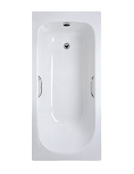 Ideal Standard Alto Idealform Plus 1500 x 700mm Rectangular Bath With Grips