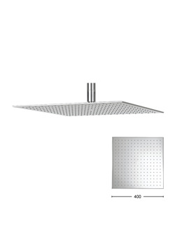 Crosswater Zion 400mm Square Fixed Shower Head